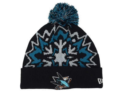 San Jose Sharks New Era NHL Glowflake 2.0 Knit