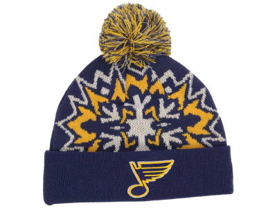 St. Louis Blues New Era NHL Glowflake 2.0 Knit