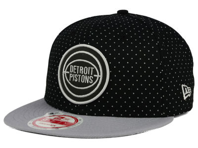 Detroit Pistons New Era NBA HWC Refleka Dot 9FIFTY Snapback Cap