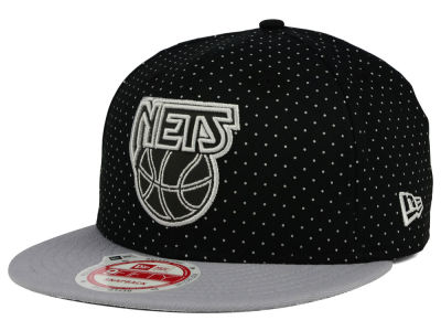 New Jersey Nets New Era NBA HWC Refleka Dot 9FIFTY Snapback Cap