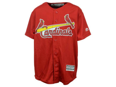 St. Louis Cardinals Majestic MLB Youth Blank Replica Jersey