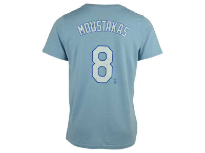 Kansas City Royals Mike Moustakas Majestic MLB Men's Triblend Jersey Player T-Shirt