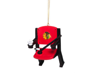 Chicago Blackhawks Stadium Chair Ornament