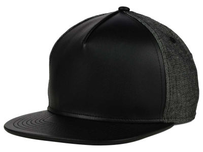 No Bad Ideas Leather Strapback Hat