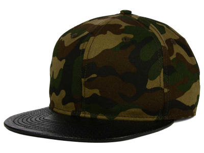 LIDS Private Label Camo Python Snapback Hat