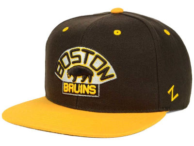 Boston Bruins Zephyr NHL Snapback Hat