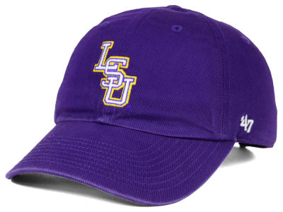 LSU Tigers '47 NCAA College World Series '47 CLEAN UP Cap