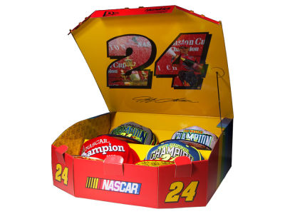 Jeff Gordon New Era Limited Edition 4 Pack 9FIFTY Snapback Championship Box Set