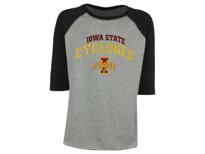 Iowa State Cyclones NCAA Youth Raglan Long Sleeve T-Shirt