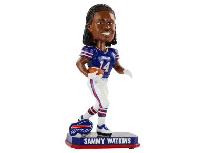 Buffalo Bills Sammy Watkins Springy Logo Bobble