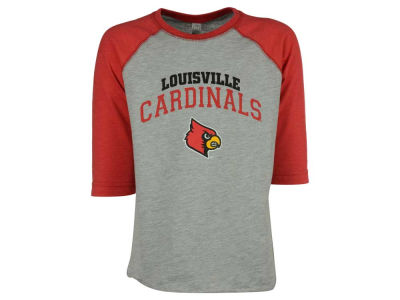 Louisville Cardinals NCAA Youth Raglan Long Sleeve T-Shirt