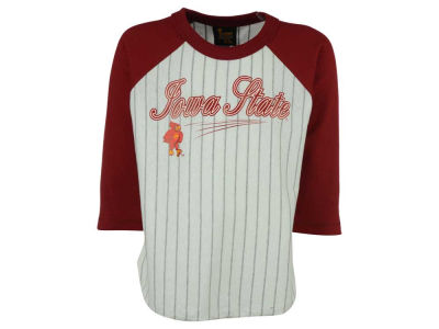 Iowa State Cyclones NCAA Youth 3/4 Sleeve Baseball Raglan T-Shirt