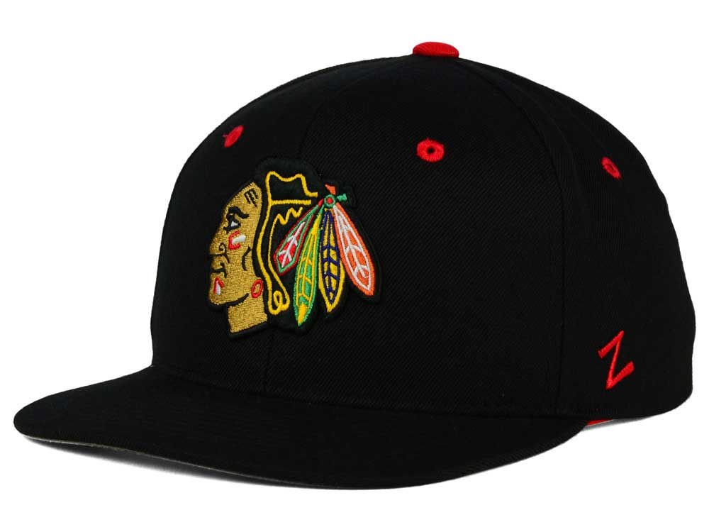 promo code c2cac cfbf2 ... usa chicago blackhawks zephyr nhl youth snapback hat 78a5a 07a8d
