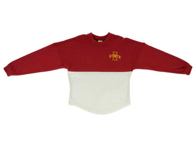 Iowa State Cyclones NCAA Youth Girls Two-Tone Sweeper Long Sleeve T-Shirt