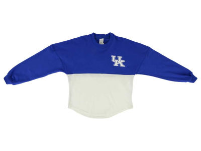 Kentucky Wildcats NCAA Youth Girls Two-Tone Sweeper Long Sleeve T-Shirt