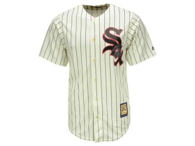 Chicago White Sox Majestic MLB Men's Cooperstown Blank Replica CB Jersey