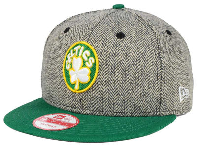 Boston Celtics New Era NBA Hardwood Classics Houndsteam Snapback Cap