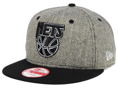 New Jersey Nets New Era NBA Hardwood Classics Houndsteam Snapback Cap