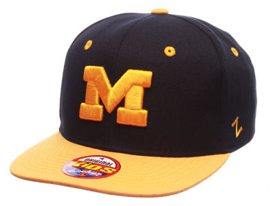 Michigan Wolverines Zephyr NCAA Z11 Kids Snapback Hat