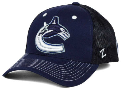Vancouver Canucks Zephyr NHL Screenplay Flex Hat