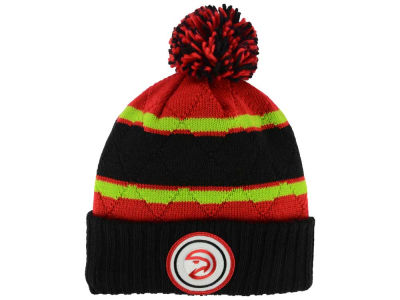 Atlanta Hawks Mitchell & Ness NBA Quilted Hi Five Knit