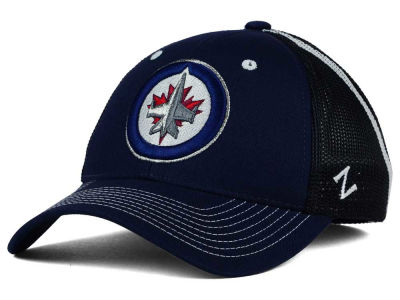 Winnipeg Jets Zephyr NHL Screenplay Flex Hat