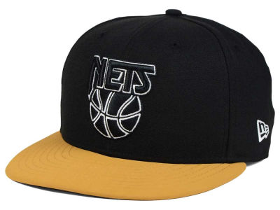 New Jersey Nets New Era NBA HWC Nu Viz 9FIFTY Snapback Cap