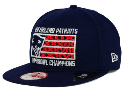 New England Patriots New Era NFL Boston Pack Series 9FIFTY Snapback Cap