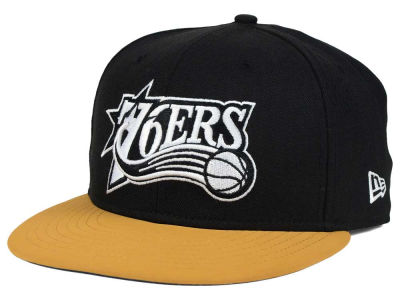 Philadelphia 76ers New Era NBA HWC Nu Viz 9FIFTY Snapback Cap