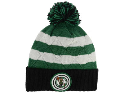 Boston Celtics Mitchell and Ness NBA Quilted Hi Five Knit