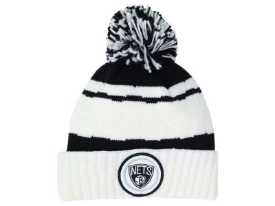 Brooklyn Nets Mitchell and Ness NBA Quilted Hi Five Knit