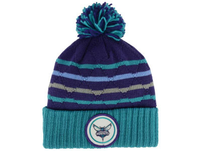 Charlotte Hornets Mitchell and Ness NBA Quilted Hi Five Knit