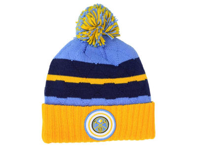 Denver Nuggets Mitchell & Ness NBA Quilted Hi Five Knit