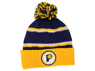 Indiana Pacers Mitchell and Ness NBA Quilted Hi Five Knit