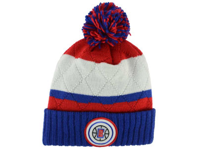 Los Angeles Clippers Mitchell and Ness NBA Quilted Hi Five Knit