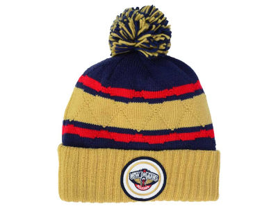 New Orleans Pelicans Mitchell and Ness NBA Quilted Hi Five Knit