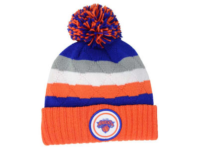 New York Knicks Mitchell and Ness NBA Quilted Hi Five Knit