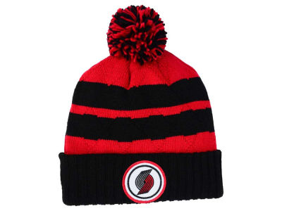 Portland Trail Blazers Mitchell and Ness NBA Quilted Hi Five Knit