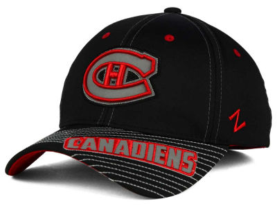 Montreal Canadiens Zephyr NHL Slant Flex Hat