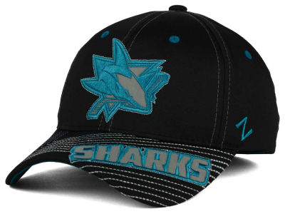 San Jose Sharks Zephyr NHL Slant Flex Hat