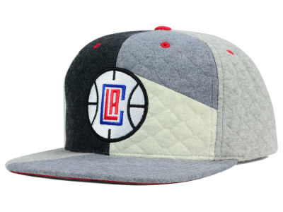 Los Angeles Clippers Mitchell and Ness NBA Fleece Slasher Snapback Cap
