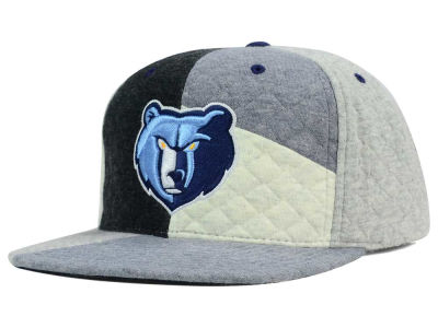 Memphis Grizzlies Mitchell and Ness NBA Fleece Slasher Snapback Cap