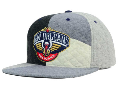 New Orleans Pelicans Mitchell and Ness NBA Fleece Slasher Snapback Cap