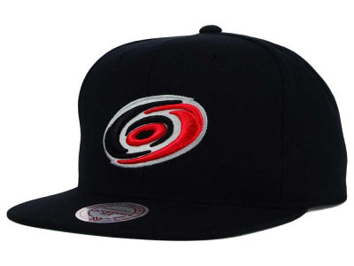 Carolina Hurricanes Reebok NHL Wool Solid Snapback Cap