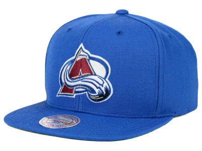 Colorado Avalanche Reebok NHL Wool Solid Snapback Cap