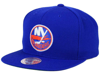 New York Islanders Reebok NHL Wool Solid Snapback Cap
