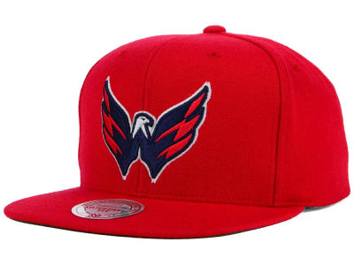 Washington Capitals Reebok NHL Wool Solid Alt Snapback Cap