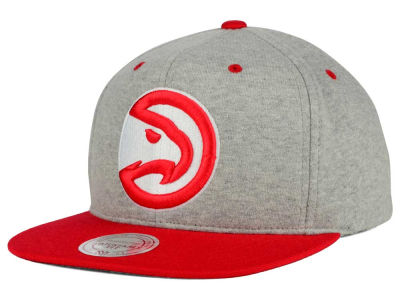 Atlanta Hawks Mitchell and Ness NBA Heather Jersey Snapback Cap