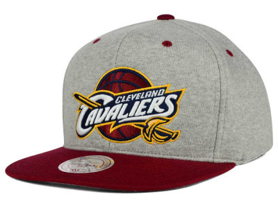 Cleveland Cavaliers Mitchell and Ness NBA Heather Jersey Snapback Cap