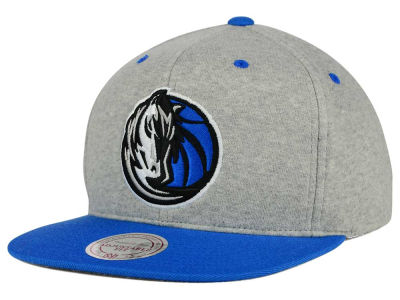 Dallas Mavericks Mitchell and Ness NBA Heather Jersey Snapback Cap